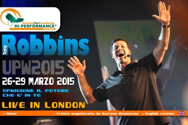 corso robbins londra26-29 marzo 2015 con Hi Performance